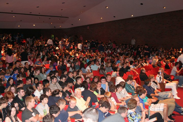 Audience from several Eastern Connecticut schools