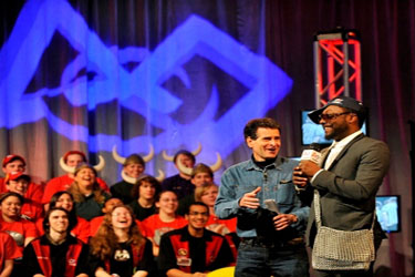 Dean Kamen and Will I Am